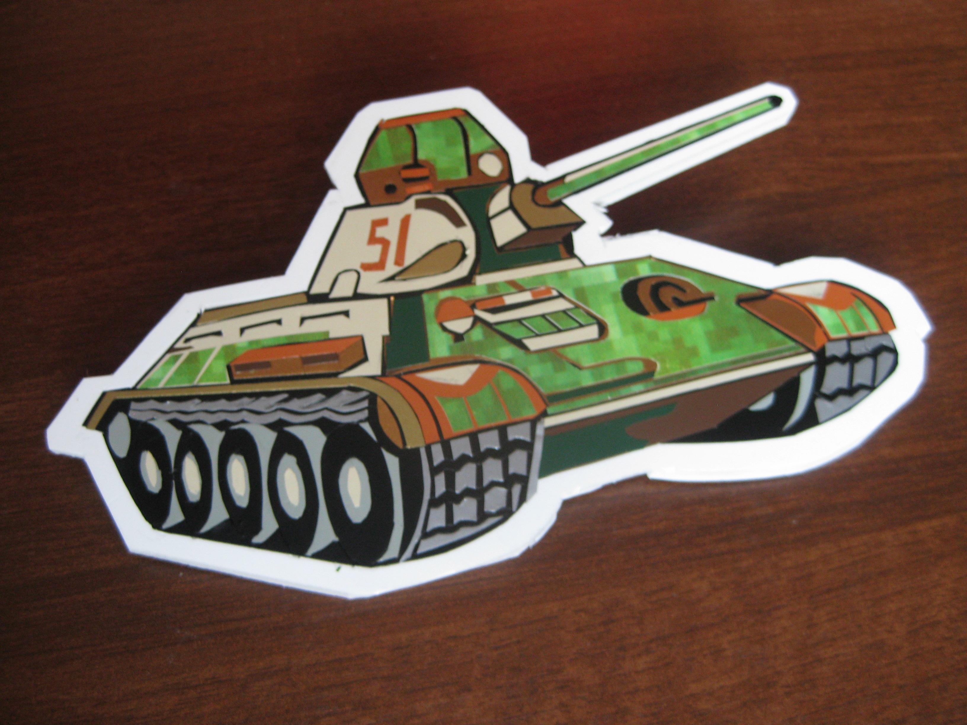 Собственный бумажный танк. Как сделать танк из бумаги 24